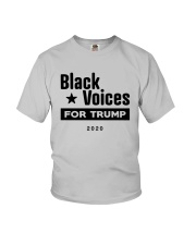 Black Voices For Trump Shirt Youth T-Shirt thumbnail