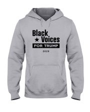 Black Voices For Trump Shirt Hooded Sweatshirt thumbnail