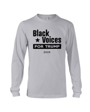 Black Voices For Trump Shirt Long Sleeve Tee thumbnail
