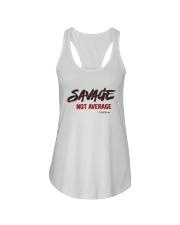 Savage Not Average Shirt Ladies Flowy Tank thumbnail