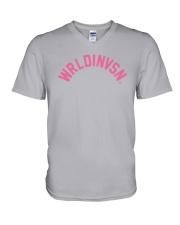 WRLDINVSN Shirt V-Neck T-Shirt thumbnail