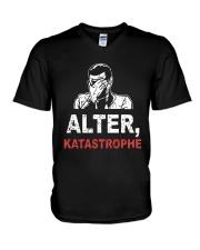 Alter Katastrophe Shirt V-Neck T-Shirt thumbnail