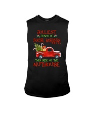Christmas Jolliest Bunch Of Social Workers Shirt Sleeveless Tee thumbnail