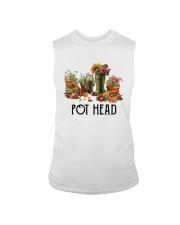 Garden Flower Pot Head Shirt Sleeveless Tee thumbnail