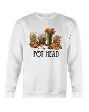 Garden Flower Pot Head Shirt Crewneck Sweatshirt thumbnail