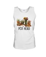 Garden Flower Pot Head Shirt Unisex Tank thumbnail