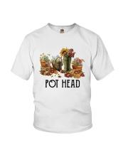Garden Flower Pot Head Shirt Youth T-Shirt thumbnail