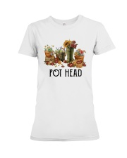 Garden Flower Pot Head Shirt Premium Fit Ladies Tee thumbnail