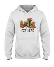 Garden Flower Pot Head Shirt Hooded Sweatshirt thumbnail