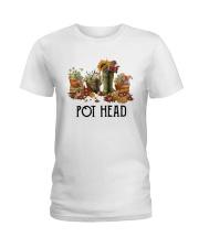 Garden Flower Pot Head Shirt Ladies T-Shirt thumbnail