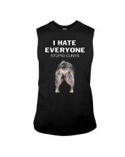 Heeler I Hate Everyone Stupid Cunts Shirt Sleeveless Tee thumbnail