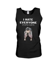 Heeler I Hate Everyone Stupid Cunts Shirt Unisex Tank thumbnail