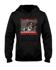 Welcome To The Dog Pound Shirt Hooded Sweatshirt thumbnail