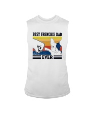 Vintage Best Frenchie Dad Ever Shirt Sleeveless Tee thumbnail