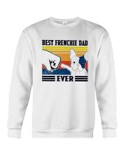 Vintage Best Frenchie Dad Ever Shirt Crewneck Sweatshirt thumbnail