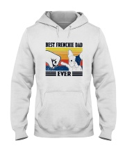 Vintage Best Frenchie Dad Ever Shirt Hooded Sweatshirt thumbnail
