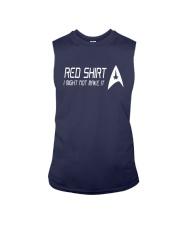 I Might Not Make It Star Trek Red Shirt Sleeveless Tee thumbnail