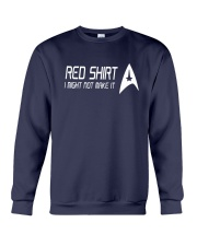 I Might Not Make It Star Trek Red Shirt Crewneck Sweatshirt thumbnail