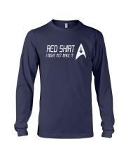 I Might Not Make It Star Trek Red Shirt Long Sleeve Tee thumbnail