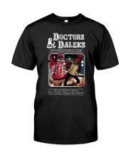 Doctor And Daleks Sci Fi Role Playing Game Shirt Premium Fit Mens Tee thumbnail