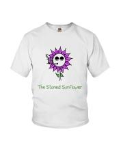 The Stoned Sunflower Shirt Youth T-Shirt thumbnail