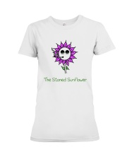 The Stoned Sunflower Shirt Premium Fit Ladies Tee thumbnail