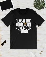 Dwayne Johnson Flush The Turd On November Shirt Classic T-Shirt lifestyle-mens-crewneck-front-17