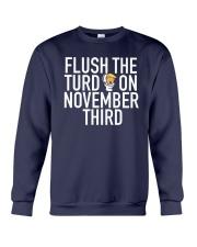 Dwayne Johnson Flush The Turd On November Shirt Crewneck Sweatshirt thumbnail