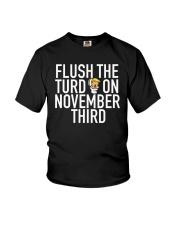 Dwayne Johnson Flush The Turd On November Shirt Youth T-Shirt thumbnail