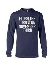 Dwayne Johnson Flush The Turd On November Shirt Long Sleeve Tee thumbnail