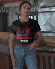 Toilet Paper Panic At The Costco Shirt Classic T-Shirt apparel-classic-tshirt-lifestyle-05