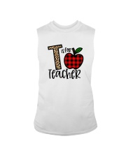 T Is For Teacher Shirt Sleeveless Tee thumbnail