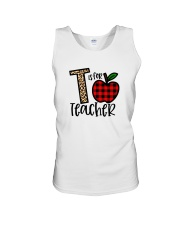 T Is For Teacher Shirt Unisex Tank thumbnail