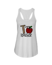 T Is For Teacher Shirt Ladies Flowy Tank thumbnail