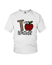 T Is For Teacher Shirt Youth T-Shirt thumbnail