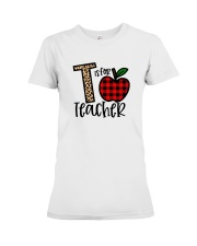 T Is For Teacher Shirt Premium Fit Ladies Tee thumbnail