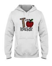 T Is For Teacher Shirt Hooded Sweatshirt thumbnail