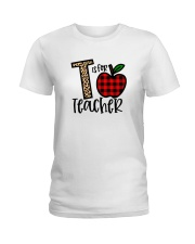 T Is For Teacher Shirt Ladies T-Shirt thumbnail
