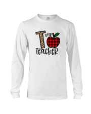 T Is For Teacher Shirt Long Sleeve Tee thumbnail