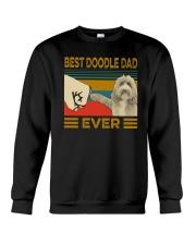 Vintage Best Doodle Dad Ever Shirt Crewneck Sweatshirt thumbnail