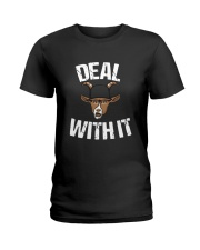 Trevor Bauer The Goat Deal With It Shirt Ladies T-Shirt thumbnail