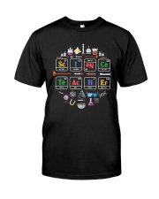 Chemical Element Science Teacher Shirt Classic T-Shirt front