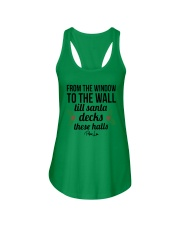 From The Window To The Wall Till Santa Deck Shirt Ladies Flowy Tank thumbnail