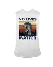 Vintage Dinosaurs No Lives Matter Shirt Sleeveless Tee thumbnail