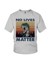 Vintage Dinosaurs No Lives Matter Shirt Youth T-Shirt thumbnail