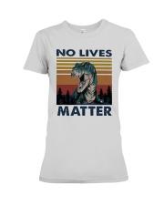 Vintage Dinosaurs No Lives Matter Shirt Premium Fit Ladies Tee thumbnail