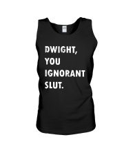Official Dwight You Ignorant Shirt Unisex Tank thumbnail