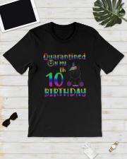 Unicorn Quarantined On My 10th Birthday Shirt Classic T-Shirt lifestyle-mens-crewneck-front-17