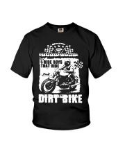 I Ride Boys That Ride Dirt Bike Shirt Youth T-Shirt thumbnail