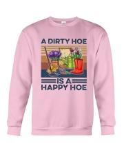 Vintage A Dirty Hoe Is A Happy Hoe Shirt Crewneck Sweatshirt thumbnail